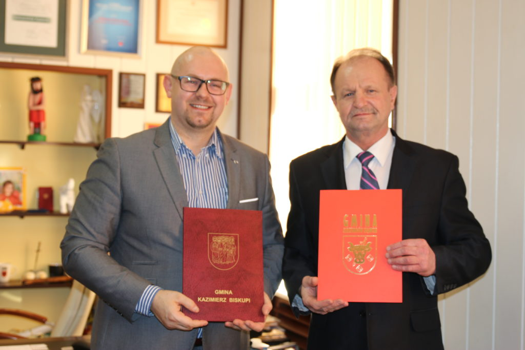 Porozumienie o współpracy z gminą Aleksandrów Kujawski