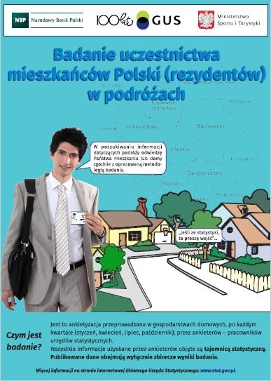 Badania uczestnictwa mieszkańców Polski (rezydentów) w podróżach