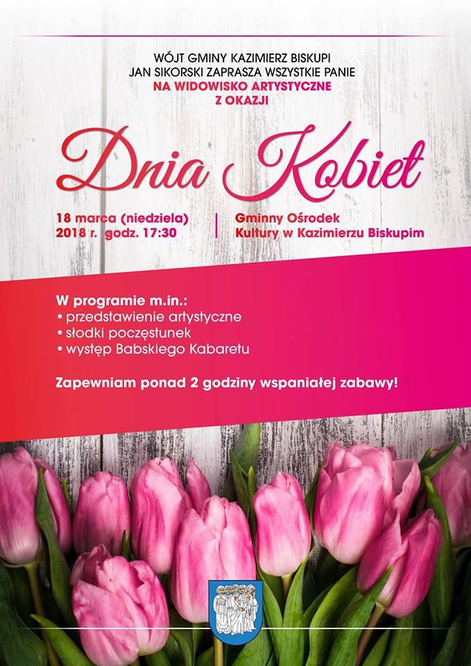Serdecznie zapraszamy wszystkie mieszkanki gminy Kazimierz Biskupi