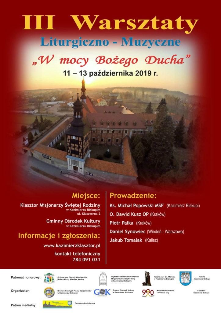 III Warsztaty Liturgiczno-Muzyczne w Kazimierzu Biskupim