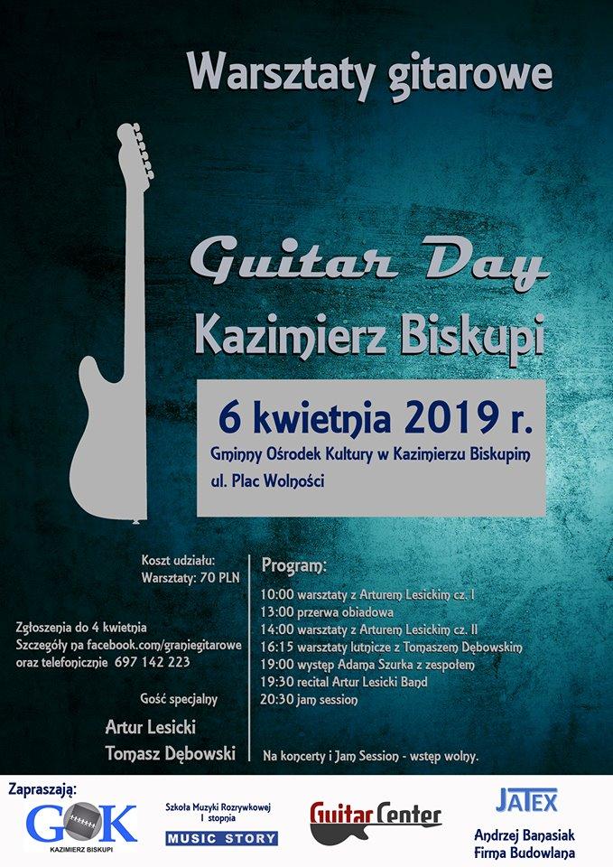 Gitarowe brzmienia w Kazimierzu Biskupim