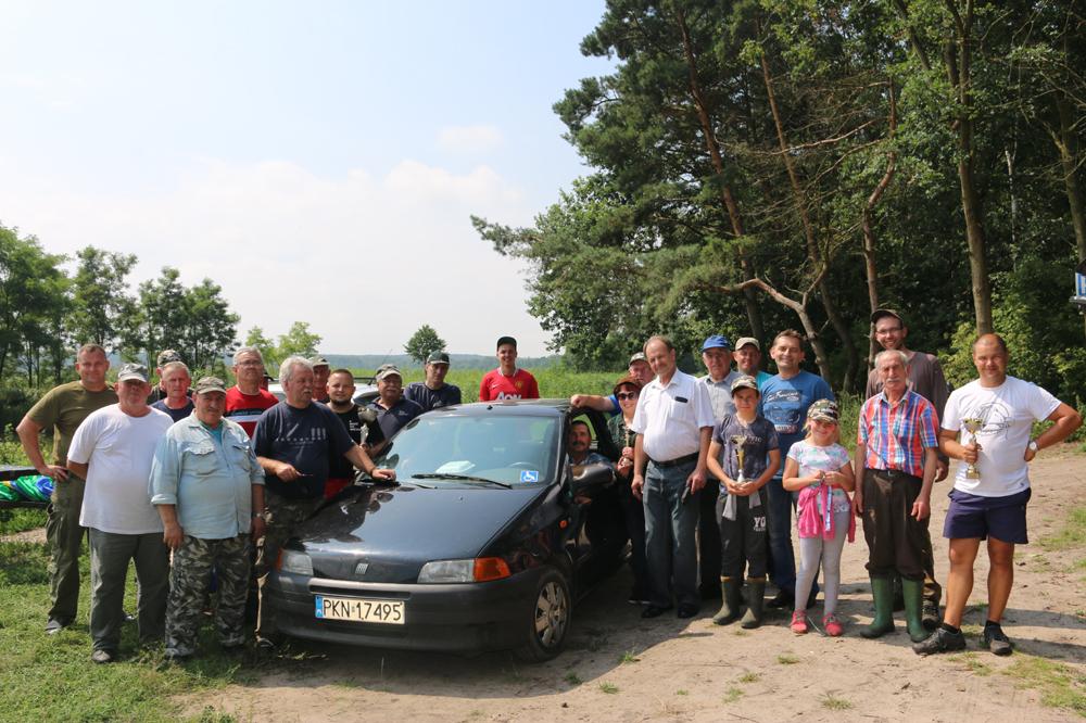 Festyn wędkarski spławikowy o Puchar Wójta Gminy Kazimierz Biskupi