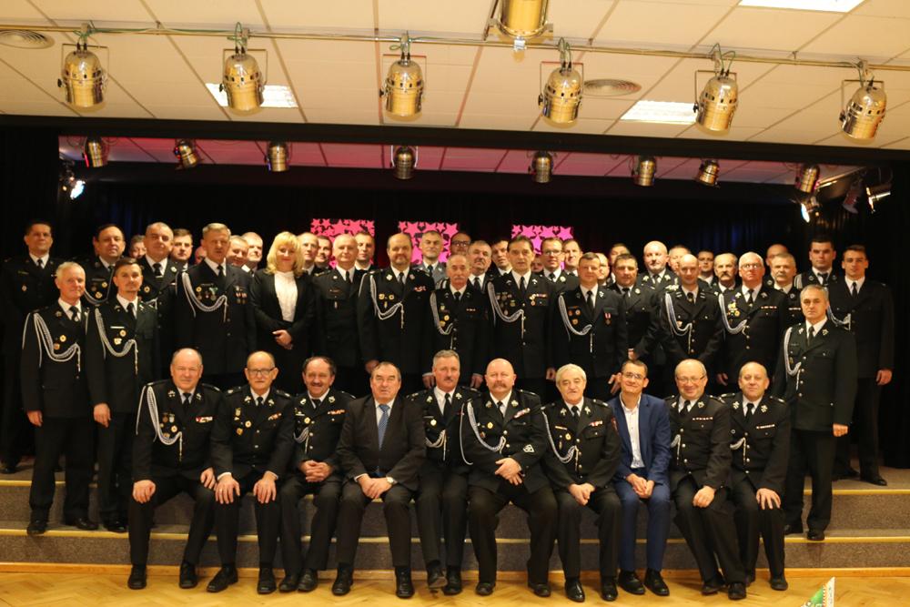 Uroczyste spotkanie wigilijne braci strażackiej powiatu konińskiego