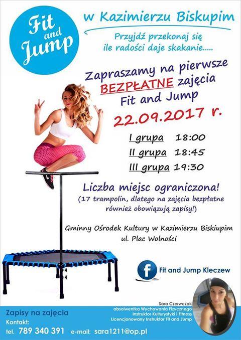 Jump, jump w Kazimierzu Biskupim