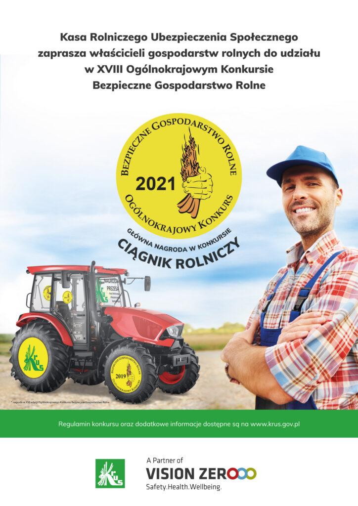 Konkurs na bezpieczne gospodarstwo rolne