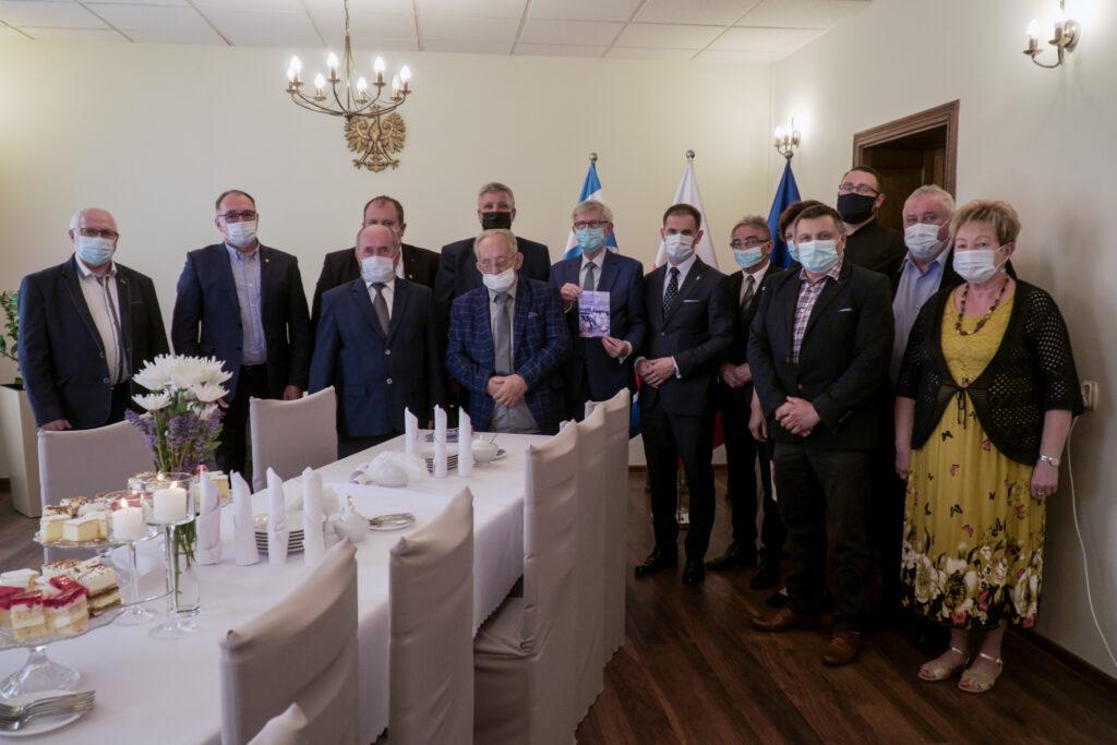 Poseł Czarnecki odwiedził gminę Kazimierz Biskupi