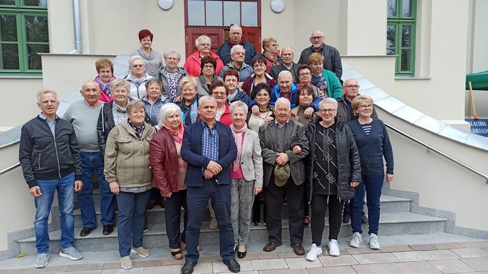 Nasi seniorzy na Senioriadzie w Wierzbinku