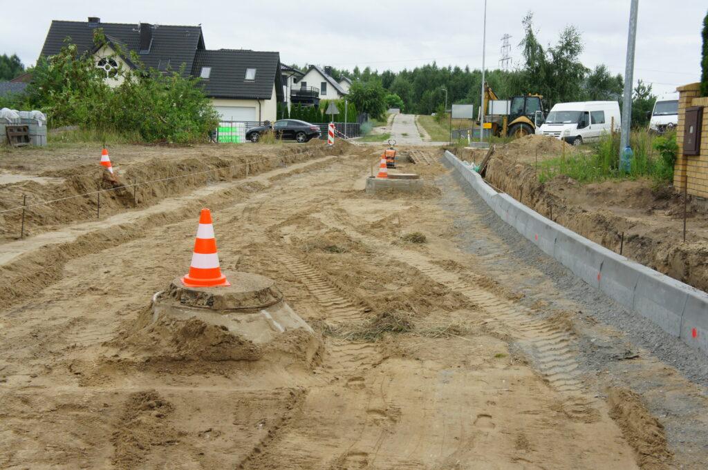 Przebudowa ulic Kasprowicza i Orkana