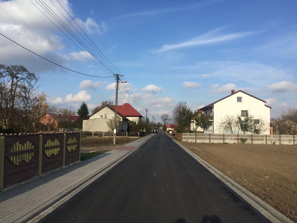 Przebudowa drogi w Kozarzewku