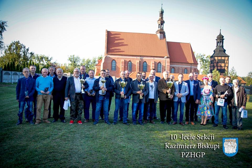 10-lecie Sekcji Kazimierz Biskupi PZHGP