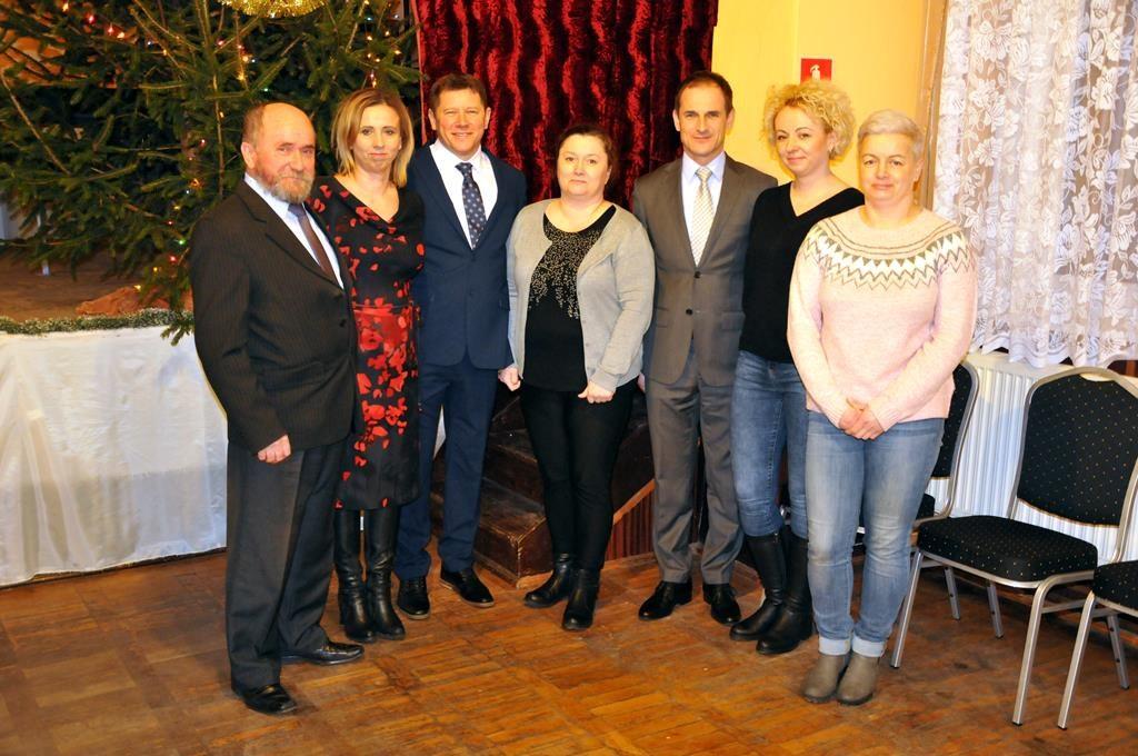 Zebranie wiejskie w Kozarzewie
