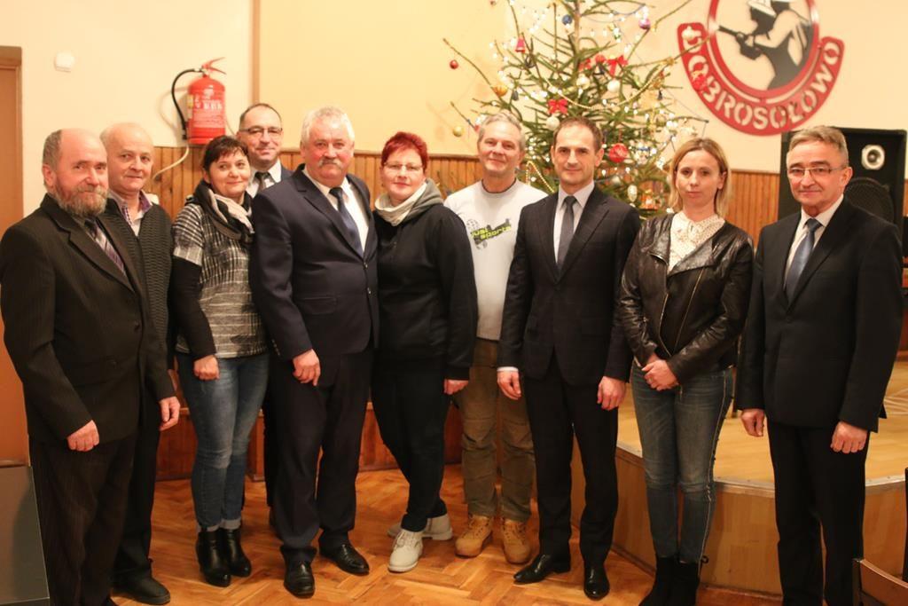 Zebranie wiejskie w sołectwie Dobrosołowo