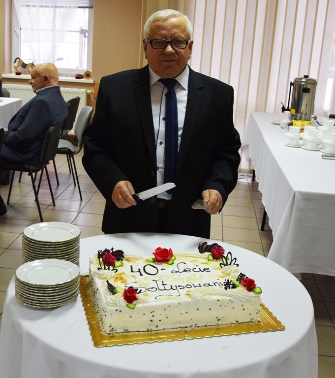 Jubileusz 40-lecia pełnienia funkcji sołtysa sołectwa Jóźwin