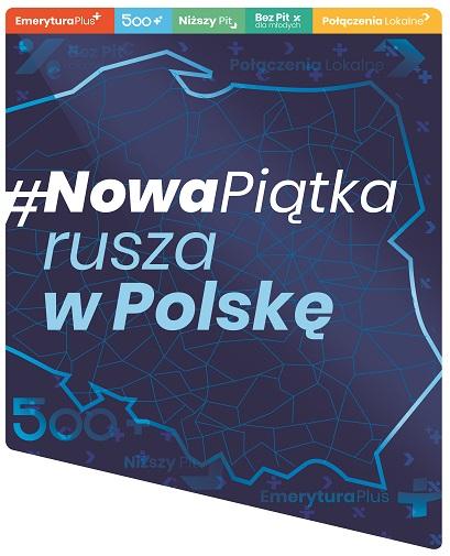 Nowa Piątka rusza w Polskę