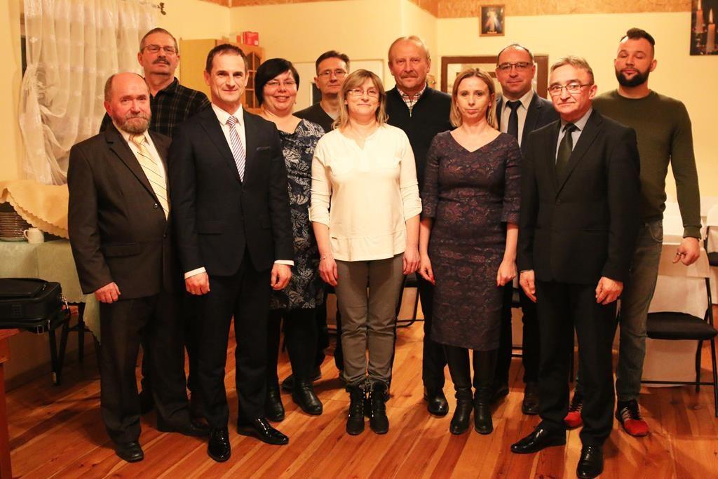 Zebranie wiejskie w sołectwie Władzimirów