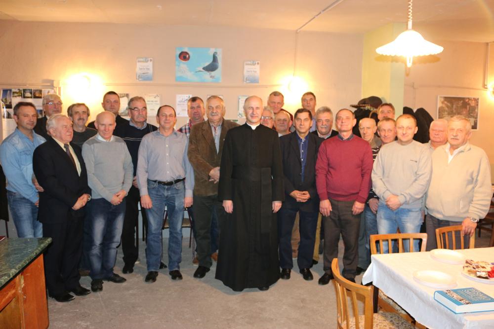 Spotkanie wigilijne Sekcji nr 5 Kazimierz Biskupi PZHGP