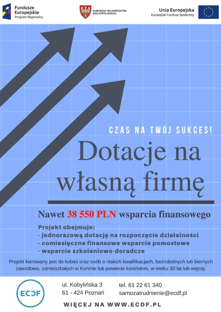 Własna firma szansą rozwoju dla osób bezrobotnych