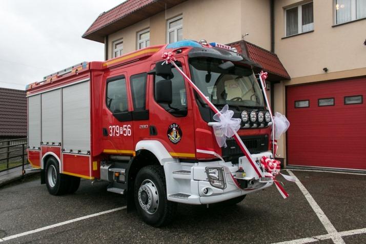 Wóz strażacki dla Dobrosołowa