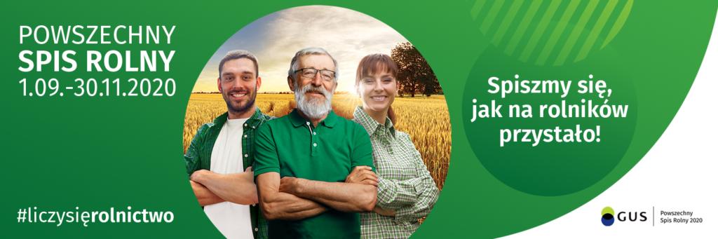 Powszechny Spis Rolny 2020. Rolniku – spisz się sam!