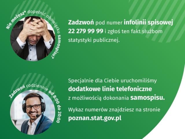 UWAGA! Dodatkowe linie telefoniczne do samospiu w PSR2020!