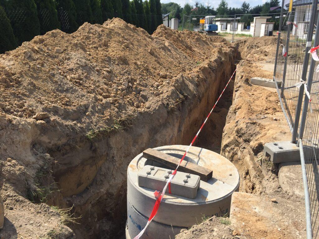 Budowa kanalizacji sanitarnej we Władzimirowie